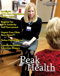 Peak Health Spring Newsletter 2015