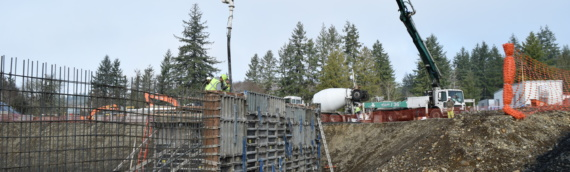 Wellness Center Walls Poured