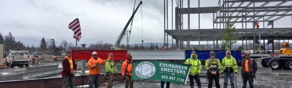 "Wellness Center Celebrated ""Topping-Out"""