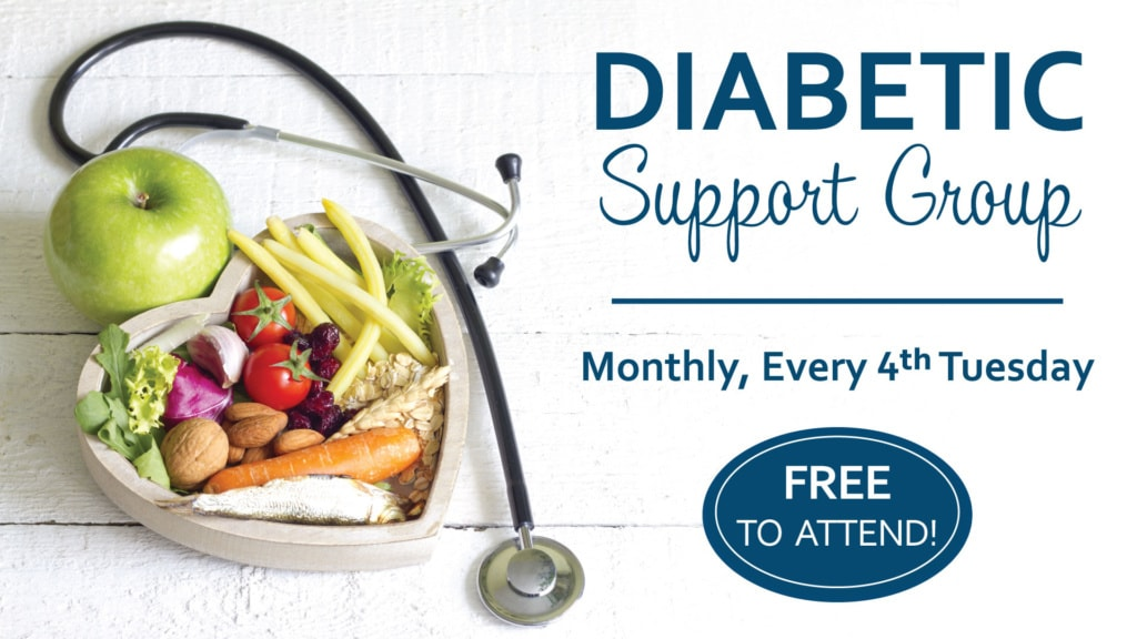 Virtual Diabetic Support Group @ Summit Pacific Wellness Center, Cafe