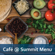 Cafe at Summit Menu
