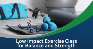 Low Impact Exercise Class for Balance and Strength @ McCleary Community Center
