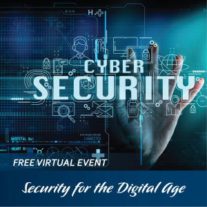 Virtual Community Education Event: Security for the Digital Age - CANCELLED @ Facebook Live!