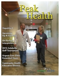 Peak Health Summer Newsletter 2015