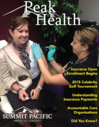 Peak Health Fall Newsletter 2014