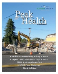 Peak Health Fall Newsletter 2015